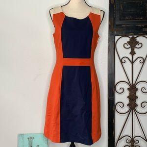 41 Hawthorn Color block sleeveless dress Sz medium
